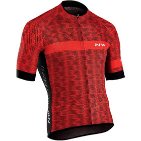 Northwave Blade Air 3 Bike Jersey Shortsleeve Men red/black